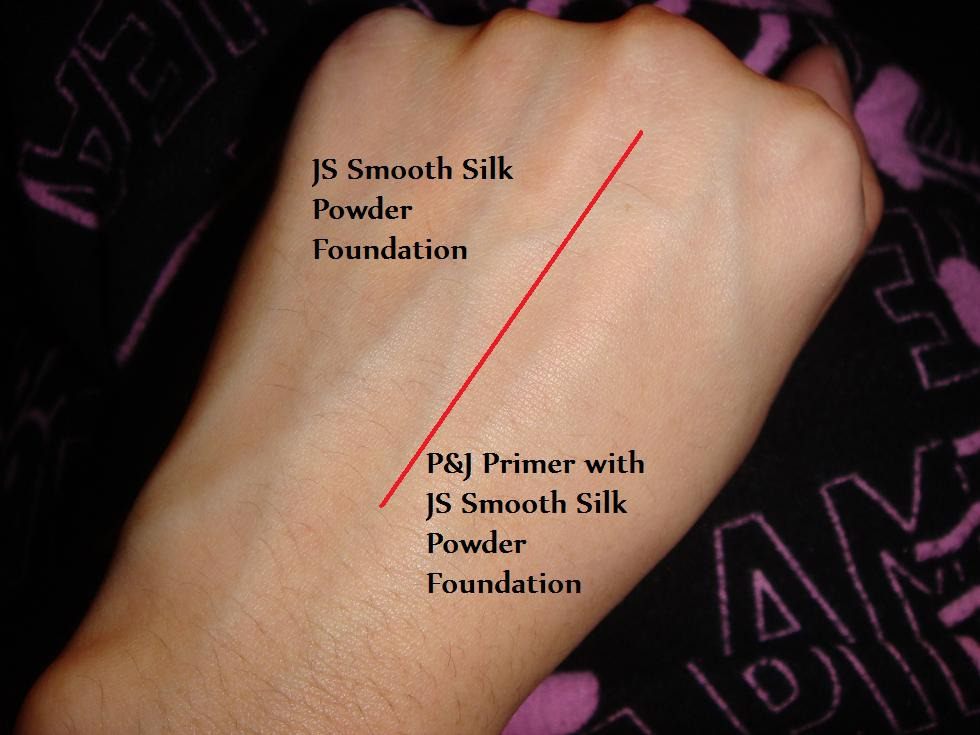 review swatch paul joe protective foundation primer uv comparison pics maddy loves. Black Bedroom Furniture Sets. Home Design Ideas