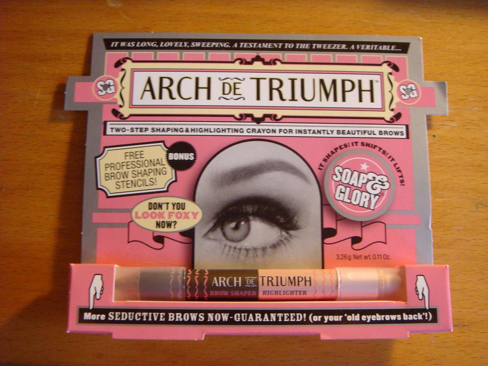 Review Soap Glory Arch De Triumph 2 Step Eyebrow Crayon Maddy