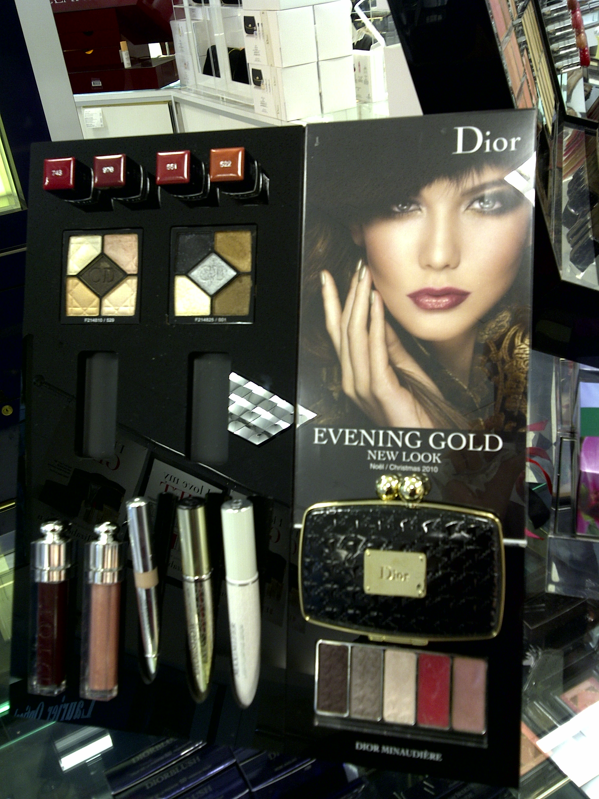 photo Dior Minaudiere Holiday 2010 Collection