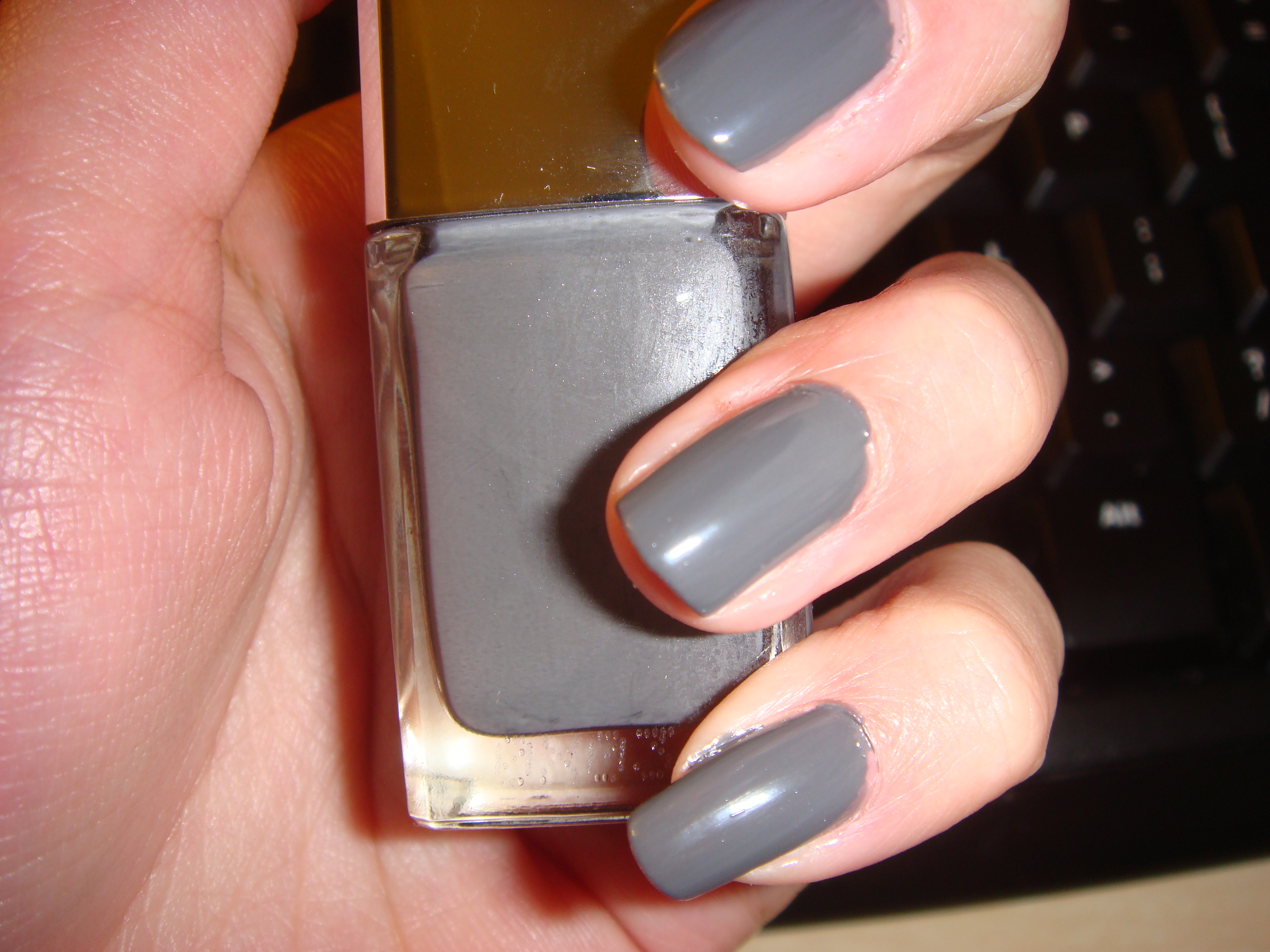 Gris Montaigne Christian Dior swatch: dior vernis in 707 gris montaigne | *maddy loves