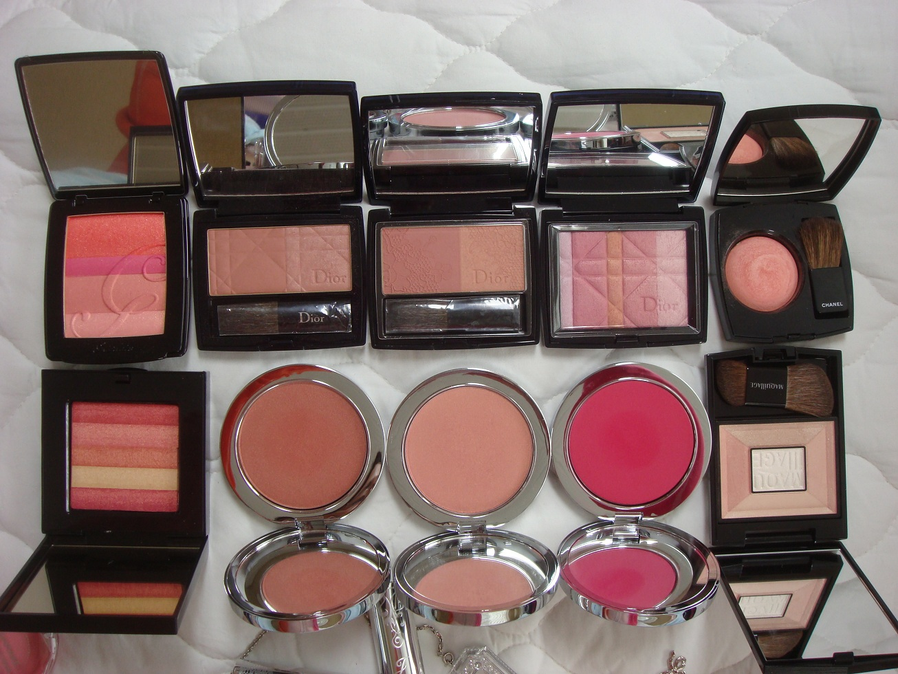 Blush Maddy Loves Jill Beauty Lip Matte 04 Rosy First Row Stuart Blossom In Sensual Dahlia Mix Compact Lovely Tulip Powder Puffy Marshmallow From