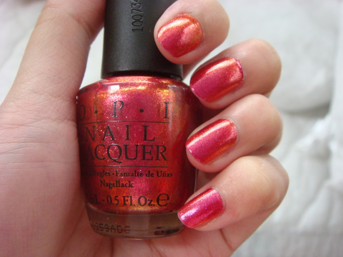 Swatch: OPI nail polish in The Show Must Go On… GORGEOUS duo-chrome ...