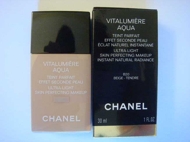 review chanel vitalumiere aqua foundation maddy loves. Black Bedroom Furniture Sets. Home Design Ideas