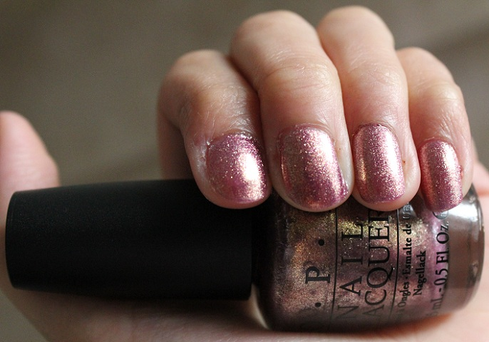 Swatch: OPI Rally Pretty Pink   *Maddy Loves