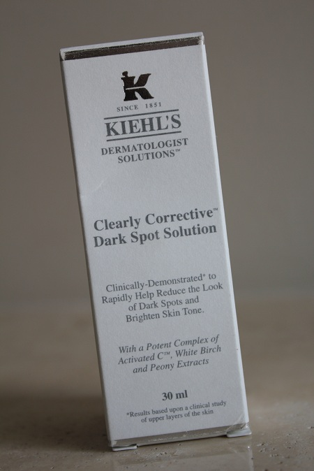 Kiehl's Clearly Corrective Dark Spot Solution review
