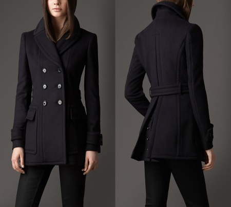 Basic wool peacoat: the purchase (part 2)
