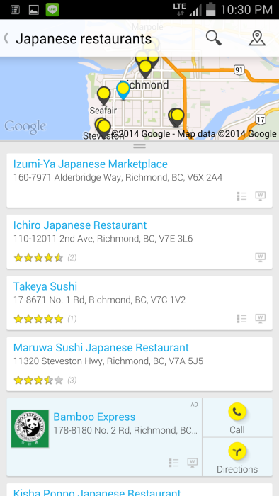 yellow pages app review