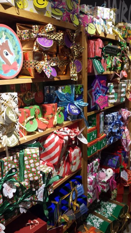 lush christmas holiday collection 2015