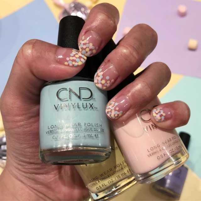 Brighten up your spring nails with CND Chic Shock | *Maddy Loves