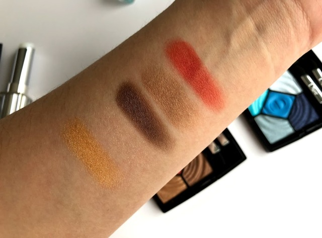 Dior Summer 2018 makeup collection review and swatches