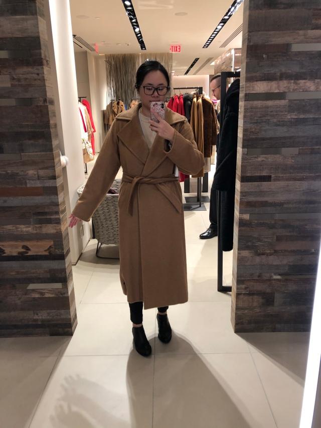 Max Mara Manuela camel coat